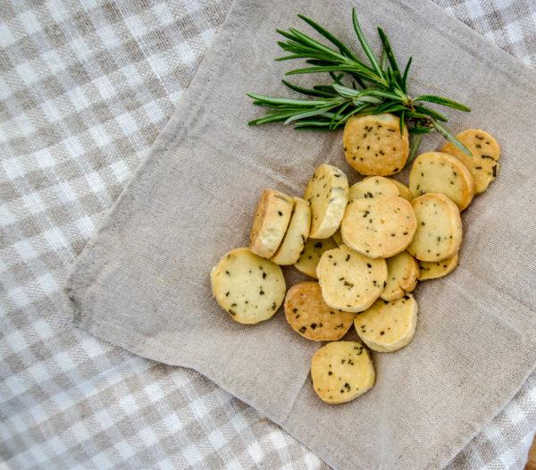Produktbild Ziegenkäse Cracker - Lecker