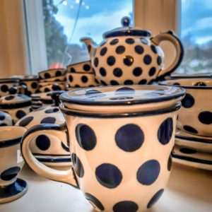 Bunzlauer Keramik: Becher 300 ml