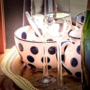 Bunzlauer Keramik: Müslischale / Suppenschale