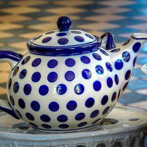 Bunzlauer Keramik: Teekanne